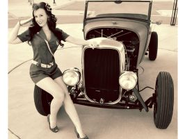 another pin up of me by VitaBella86
