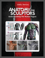 ANATOMY FOR SCULPTORS cover design by anatomy4sculptors
