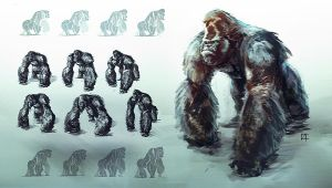 Gorilla concepts by OmenD4