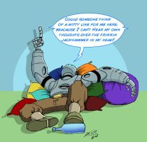 Atomic Robo Saturday 4 by RobertLaszloKiss