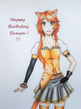 Happy Birthday Shawn by OanaChan