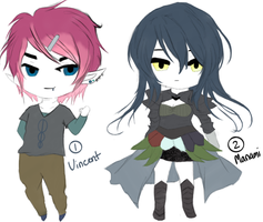 Adopts 5 (closed) by JellyfishStorm