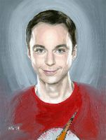 Holy Sheldon by MarianaPo