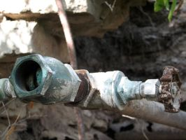 Rusty Faucet 2 by Altaria13-Stock