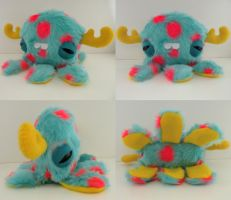 Baby Monstroctopus- Pomby by loveandasandwich