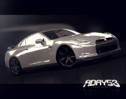 2008 Nissan GTR by Adry53