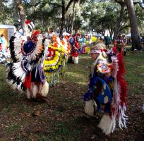 Native American dancers male by WisteriasWeb