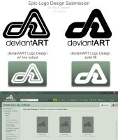 Deviant Art Logo Design by reyjdesigns