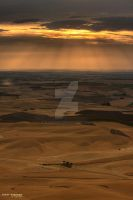Sunset at the Palouse by djniks97