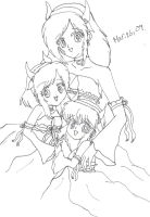 YYH Mother and Daughter by IciePhoenix