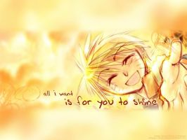 Naruto - ...for you to shine by Aurum