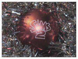 Christmas 2008 - Sims 2 Bauble by snwgames