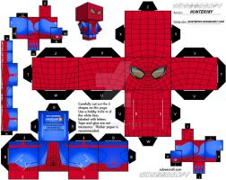 Spidey Cubeecraft by Huntersky
