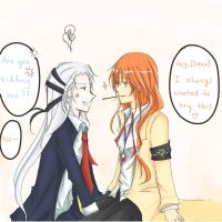 Pocky Time! With D and L by Yukinou