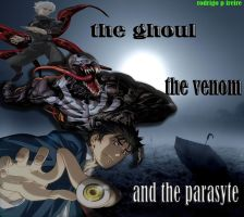 the ghoul, the venom and the parasyte by brazilking