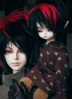 Kiddo and Daddy by Arenheim