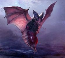 Blood Bat by mythrilgolem1