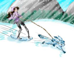 Challenging the Blizzard by midow-fura