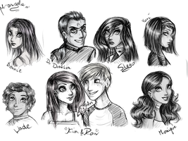 KP characters by m-angela