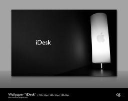 Wallpaper iDesk by cgink