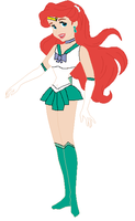 Sailor Atlantica by mewmewspike