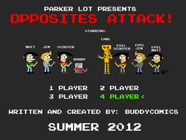 Parker Lot - Opposites Attack by austoon