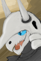 Aggron Painting by GreeneFlygon