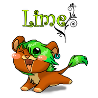 Chibi Lime - Comission by RIOPerla