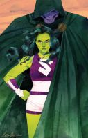 She-Hulk Issue #3 by kevinwada