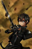 Kirito~Sword Art Online by BaconLovingWizard