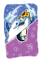 It's Cold Here - Ice King and Gunther Flip by CraigArndt