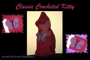 Classic Crocheted Kitty by DragonKissses