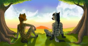 Everything The Light Touches by shani-hyena