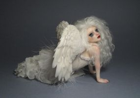 OOAK Gothic-Angel by FantasyLilyan