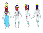 Full Color Marking and body References by Headless-Goddess