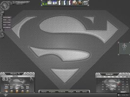 My Superman Carbon Fiber by cal-al