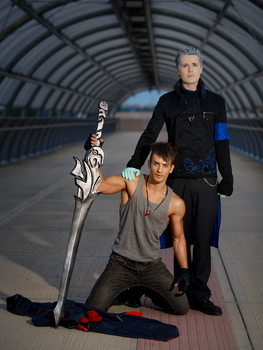 New Journey - Dante and Vergil DmC Cosplay by Leon by LeonChiroCosplayArt