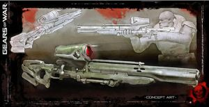 Gears of War: Longshot Sniper Rifle by FPSRussia123