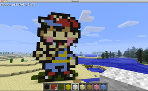 Earthbound Minecraft: Ness by Alan-Guy2