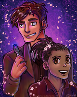 Ten and Martha by Fonora