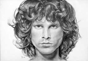 Jim Morrison mojo king by Papkalaci