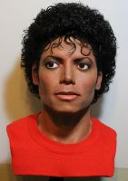 MJ lifesize Thriller bust pic 3 by godaiking
