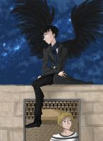 Sherlock: Angel on you Shoulder by CobaltPop