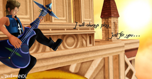 [MMD] - Demyx Wallpaper - Only for you... by DeoFairyNOL