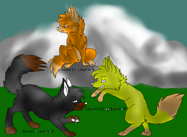 Wolf brothes ((Gimp Version)) by skyfur-forever
