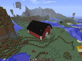 Minecraft barn1 by falcon01