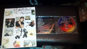 Vic Mignogna Collage and CD-Signed!! by sonicrocker