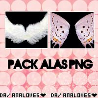 Pack Alas PNG by AnaLoves