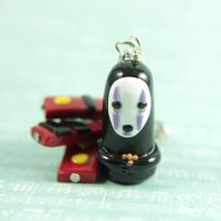 No Face keychain by TrenoNights