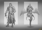 Concepts-sketches by feintbellt